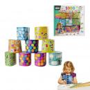 Großhandel Geschenkartikel & Papeterie: Box 1000 Aufkleber, einmalige sortiert