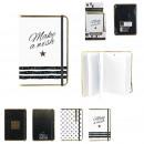 Großhandel Geschäftsausstattung: a5 wünsch dir ein Notizbuch, 4- fach sortiert