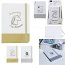 mayorista Mobiliario y accesorios oficina y comercio: unicornio brillo cuaderno 21x15cm, 2 veces