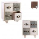hurtownia Mieszkanie & Dekoracje: 4 szuflady drewniany mały rynek