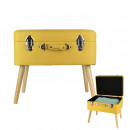 Yellow suitcase, 1-fold assorted