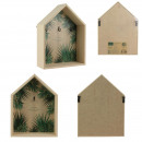 house keychain 21x28cm jungle, 1- times assorted