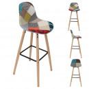 bar stool patchwork riga