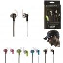 groothandel Fietsen & accessoires: oortelefoons sport, 4-time geassorteerd