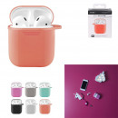 groothandel Stationery & Gifts: Siliconen etui 22 gr compatibele airpods, 6-voudig