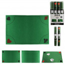 card game mat 40x60cm, 2- times assorted