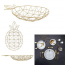 wire basket shape pineapple golden gm, 1-time ass