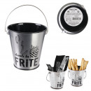 fried metal table bucket, 1- times assorted