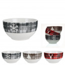Christmas bowl at the cottage, 3- times assorted