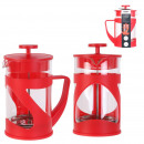 coffee maker with red piston 80cl 7 cups
