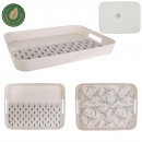 bamboo fiber tray, 2- times assorted