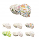 mold muffins paper 4.5cm x100, 6- times assorted