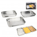 bread and marinade container x3 cook concept