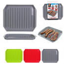 Microwave cooking tray, 3- times assorted
