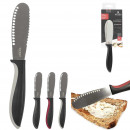 Hard butter knife, 3-fold assorted