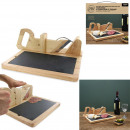 Slicer with charcuterie with slate tray, 1-f