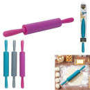 Roll pastry silicone 23cm 3 colors, 3-fold