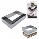 pastry rectangle frame 3 sizes, 1-time assort