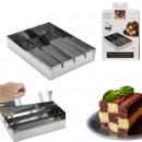 checkerboard cake mold