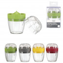 juicer with tank, 4-times assorted