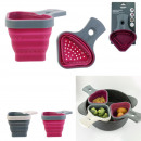 wholesale Organisers & Storage: retractable silicone cooking basket 17.7x13cm, ...