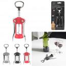 wholesale Food & Beverage: Double lever corkscrew color, 3-times assorted