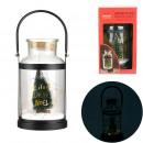 led metal handle christmas light, 1- times assorte