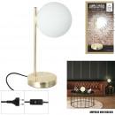 groothandel Huishouden & Keuken: tafellamp retro ondoorzichtig glas 1 kop