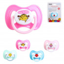 physiological pacifier, 4- times assorted