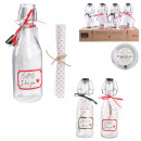 bottle words of love message, 2- times assorted