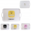 tray 46x31cm, 3- times assorted