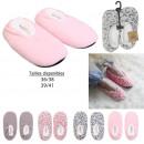 Großhandel Schuhe:-Innenvlies -Ballerina-Sherpa Pantoffeln, 4-f