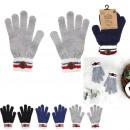 Großhandel Handschuhe: Handschuhe Ecusson, 3- fach sortiert