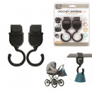 wholesale Bath & Towelling: hook x2 stroller, 1-times assorted