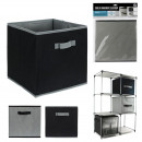 2-color storage cube 30x30cm, 2-fold assorted