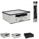 drawer storage compartment 4 compartments 28x28x11