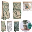natural life paper bag 65x16x32cm, 3- times assort
