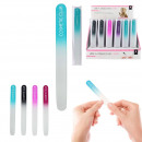 a nail file glass, 4-times assorted
