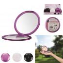 groothandel Make-up accessoires: vergrotende spiegel x5 zak chique, 3-maal Assor