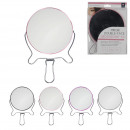 wholesale Make-up Accessoires: x3 magnifying mirror D14cm, 4-times assorted