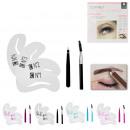 groothandel Make-up: box 3pcs wenkbrauwen, 4 keer geassorteerd