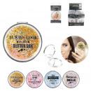 groothandel Make-up accessoires: glitter tas spiegel, 4 maal geassorteerd