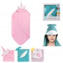 groothandel Bad- & handdoeken: kinderbaduitlaat 84x84cm, 3 maal geassorteerd