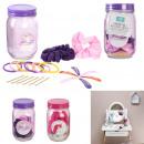 mason jar hair accessories, 2- times assorted