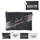 women's wallet 26x18cm, 4- times assorted