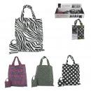 nagyker Táskák és utazási kellékek: összecsukható táska bevásárló grafikus tasak, 4-fo