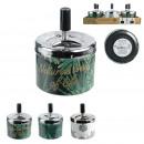 push ashtray natural life, 3- times assorted