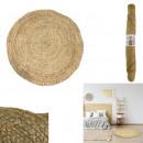 kerek szőnyeg juta 90cm, 1- szer szortírozott kisz