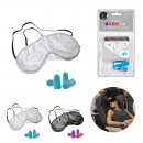 eye mask with two pair of earplug 2-times