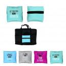Großhandel Taschen & Reiseartikel: Faltbare Reisetasche, 3-mal sortiert